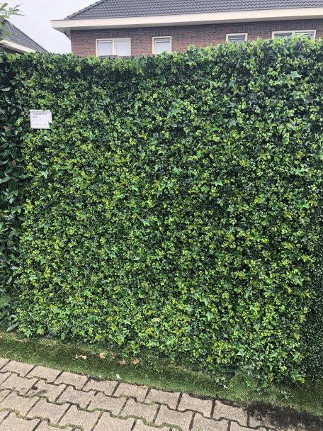 Kunsthaag vegetatie grof blad schutting